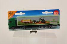 "Siku SK1627 Diecast Truck and Trailer "" Pottinger "" , 1:87 Scale."