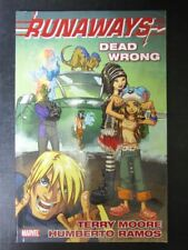 Runaways Dead Wrong - Marvel - Graphic Softback # 15D38