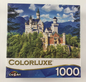 Colorluxe 1000pc Jigsaw Puzzle Neuschwanstein Castle Bavaria New Sealed