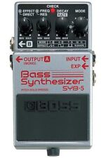 Boss SYB-5 Bass Synthesizer Pedal SYB 5 New
