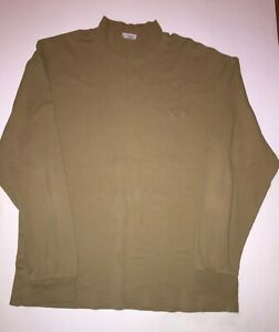 Men's Columbia Mock Turtle Pullover Shirt Size M