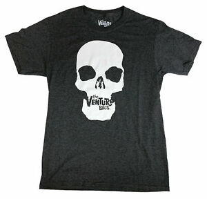 T-Shirt Adult Swim The Venture Bros. Skull Officially Licensed NEW FREE SHIPPING