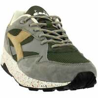 Diadora Eclipse Premium Sneakers Casual    - Grey - Mens