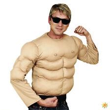 Spaß-Kostüm Muskelshirt Einhgr. Muskelmann Arni Junggesellenabschied Sixpack
