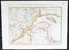1778 Zatta Original Antique Map Nova Scotia, St Lawrence River, Ontario, Canada