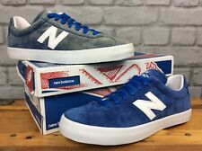 NEW BALANCE MENS UK 8 EU 42 ML22 BLUE SUEDE TRAINERS CASUAL                   EP