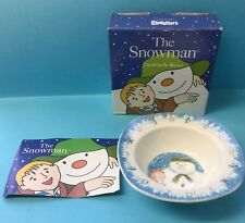 Coalport Characters The Snowman China Cereal Bowl, New In Box