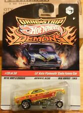 Hot Wheels Drag Strip Demons Lil Nate Plymouth Cuda Funny Car #20 Of 30