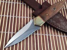 JayGer Handmade 420 High Carbon Steel Hunting- Knife-Messer-Lame-H6