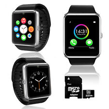 GREAT! GT8 Bluetooth SmartWatch & Phone For All iPhone Android - 32GB Included