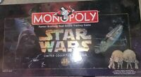 1996 Star Wars Limited Collector's Edition Monopoly Game-MIB