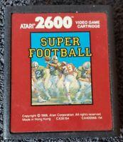 Atari 2600 SUPER FOOTBALL & Activision GRAND PRIX Video Game Cartridges VINTAGE