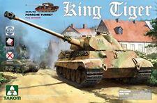 Tkm2074 - Takom Model 1/35 WWII German Heavy Tank Sd.kfz.182 King Tiger Porsch