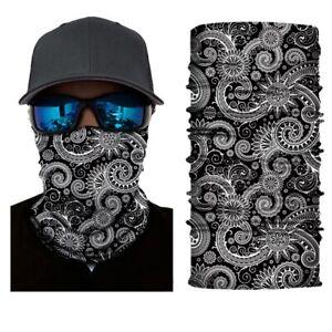 Mask Face Cover Biker Balaclava Cycling Scarf Snood Gaiter Bike Bandana Locs Hat