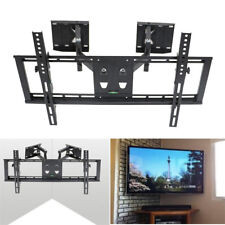 Universal Corner TV Wall Bracket Mount 32 37 40 47 50 55 60 65 Tilting Swivel
