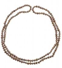 Süßwasserzucht-Perlenkette 90 cm, versch. Farben