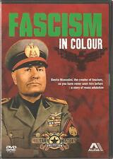 FASCISM IN COLOUR DVD - BENITO MUSSOLINI THE CREATOR OF FASCISM
