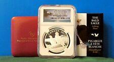 2013 Canada Silver Bald Eagle Lifelong Mates NGC PF70-ER-OGP & COA