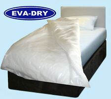 "EVA Dry Waterproof Double Quilt duvet Cover. Incontinence aid, 78"" x 78"""
