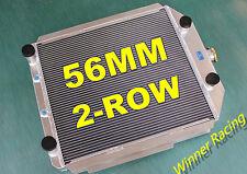 56mm 2-Row ALUMINUM RADIATOR FORD F-SERIES TRUCK/PICKUP FLATHEAD V8 A/T 1948-52