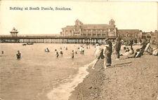 SOUTHSEA ( Hampshire) : Bathing at South Parade