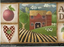 Wallpaper Border / Folk Art Farm / Country 5810432