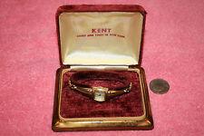 Vintage Swiss Ladies Kent Watch 17 Jewels in Box