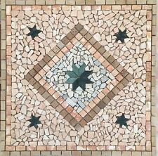 mosaico rosone in marmo 80x80 cm art 1