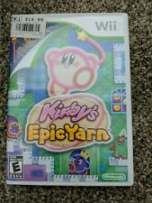 Kirby's Epic Yarn Nintendo Wii CIB Complete Tested Works FREE SHIPPING