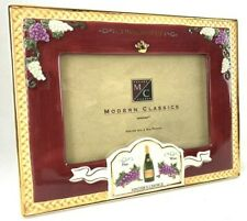 """Wine Connoisseur Picture Frame fits 4"""" x 6"""" Photos Freestanding"""