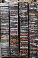 Wholesale Lot of 50 Used Assorted Bulk DVD Mostly Horror Sci Fi No Dups Free S&H