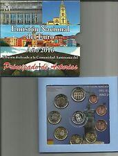 SPANJE 2016 - PRINCIPADO DE  ASTURIAS - EMISIÓN NACIONAL (9 munten en 1 penning)