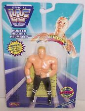 """New! 1997 Just Toys Bendems Series #6 """"Triple H"""" Action Figure WWF {392}"""