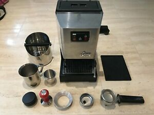Gaggia Classic Coffee Machine bundle, OPV modified