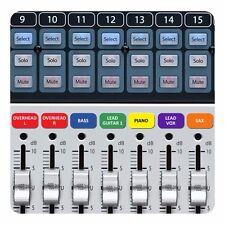 Magnetische Etiketten für Presonus Studiolive Mixer