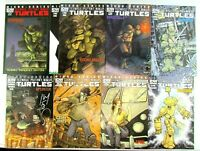 Teenage Mutant Ninja Turtles Micro Series 1-8 Complete Set IDW Comic Book Lot