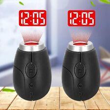 Kreative Projektion elektronische Uhr LED Digitaluhr Mini tragbar Projektio W7T1