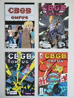 CBCG OMFUG 1 2 3 4 Complete Indie Rock Boom Set Series Run Lot 1-4 VF/NM