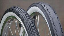 "20"" Muscle Bike WhiteWall TIRES Brick & Slick  Vintage Schwinn Stingray Bicycle"