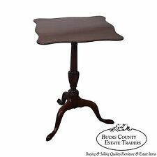 Kittinger Colonial Williamsburg 18th Century Style Tilt Top Side Table
