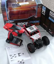 Top Race Remote Control Monster Truck Off Road Rc Rock Crawler w 2.4Ghz Transmit