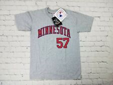 NWT Johan Santana #57 T-Shirt Minnesota Twins YOUTH Size Large (14-16) W. Tag's