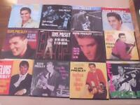ELVIS PRESLEY 45 Gold Vinyl Collection  50th Anniversary 12 - 45 Picture Sleeves