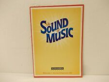 The Sound Of Music Alhambra Theatre Musical Brochure Programme 2009