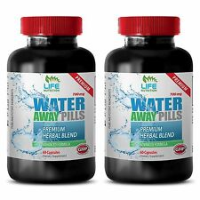 Reduce Blood Pressure Caps - Water Away Pills 700mg - Pure Vitamin B6 Powder 2B