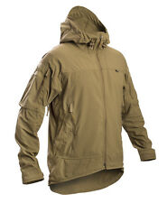 FIRSTSPEAR Coyote Wind Cheater Medium Med M Hooded Jacket Soft Shell Breaker