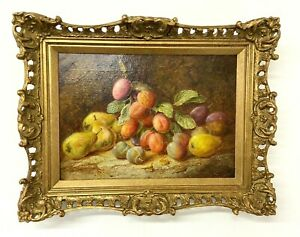 Vincent Clare Oil Painting On Canvas Still Life Of Fruit