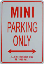 MINI PARKING ONLY - Miniature Fun Parking Sign