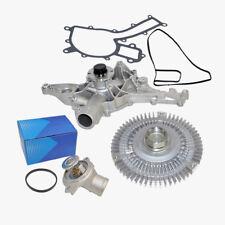 New Water Pump Fan Clutch Thermostat Kit Mercedes ML320 ML350 163 Premium (3pcs)