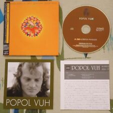 Popol Vuh Mini LP CD In Den Garten Pharaos - Krautrock Japanese Import ARC-7183